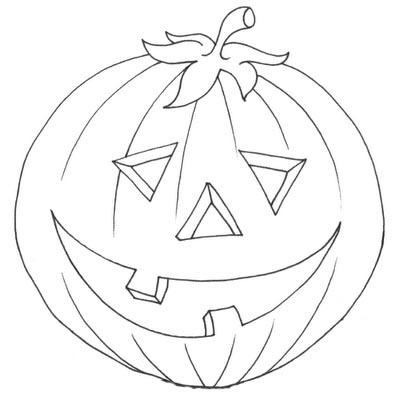 pumpkin cutout halloween