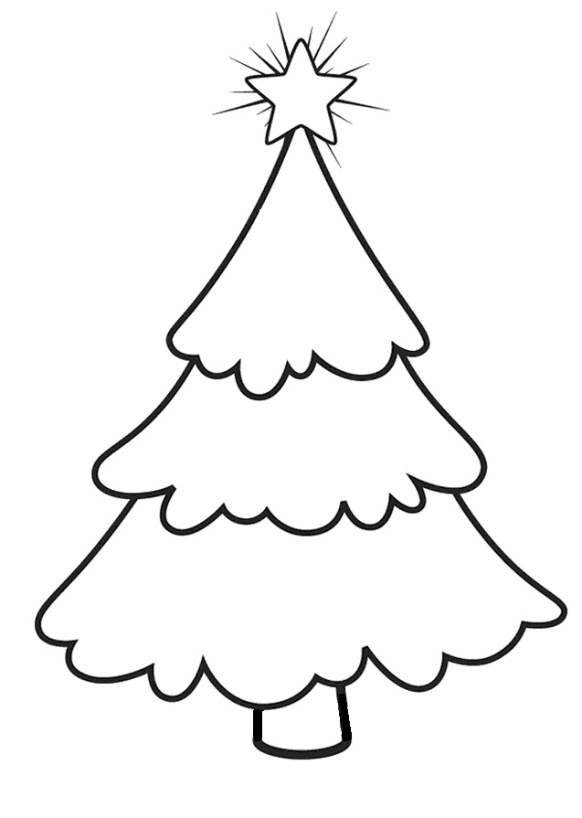 Published at 637 × 895 in Printable Christmas Coloring Pages