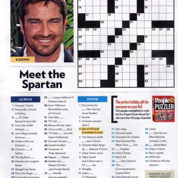 People Magazine Crosswords I Am Krsitin