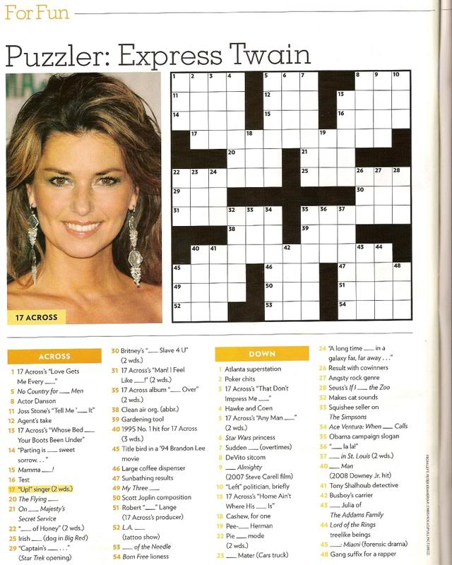 Woof gt People Magazine Crossword Printable mario bross com