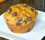 Recipe: Baked Chocolate Pumpkin & Oatmeal Muffins