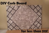 DIY Cork Boards – Less than $13
