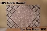 DIY Cork Boards – Less than$13