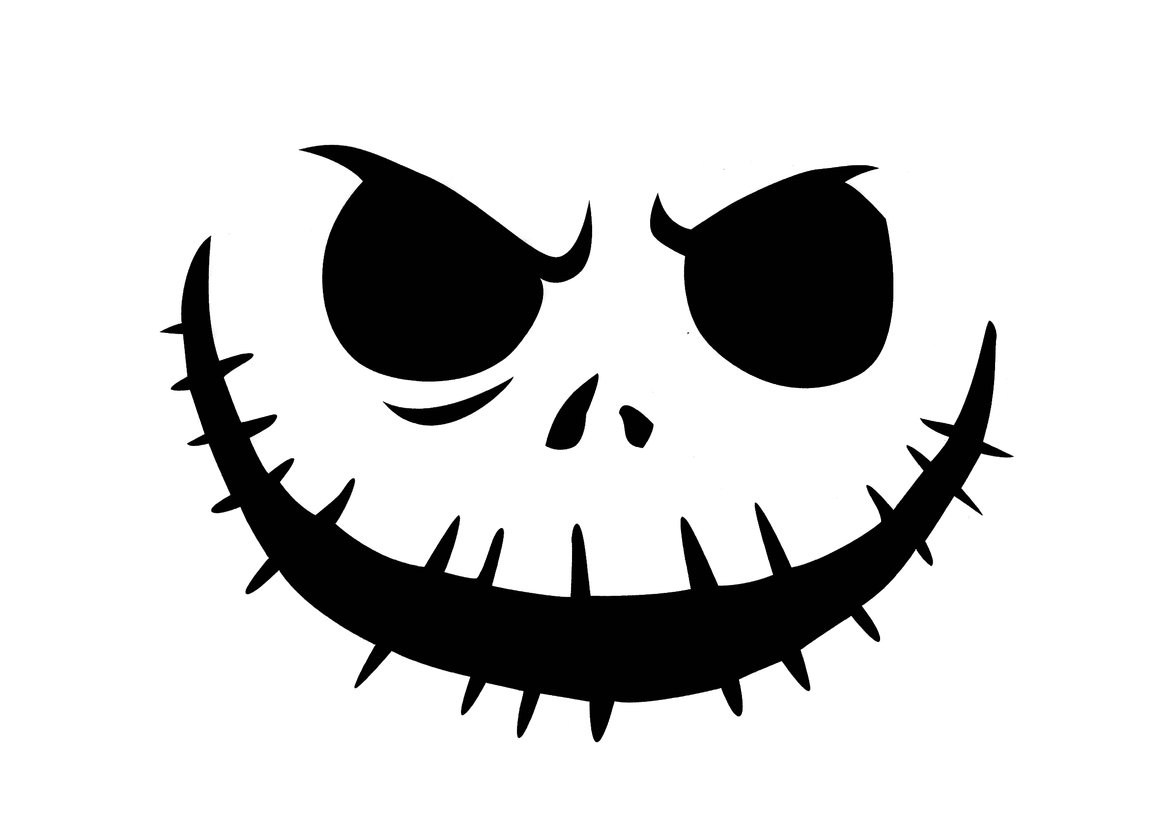 It's just a graphic of Unforgettable Stencil for Pumpkins