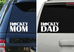 Hockey Mom Dad